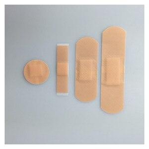 Image 2 - Vendajes de tirita antibacterias para uso médico, adhesivo impermeable para heridas, suministros de botiquín de primeros auxilios para viajes en el hogar, paquete de 100 unidades