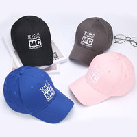 WORSICO 2017 New Style Embroidered Letter MC Women Snapback Cap Men Fashion Adjustable Girl Boy Baseball