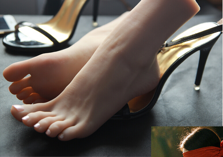 Footfetish foot love <font><b>sex</b></font> <font><b>doll</b></font> solid silicone fake foot <font><b>cat</b></font> fetish stuff girls foot Mannequin's feet sell like hot,silicone foot image