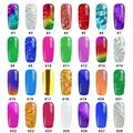 1 Roll 28 Designs 4cm*100cm Nails Transfer Foils DIY Foil Polish Beauty Stickers For Nail Art Decals 1-1-28