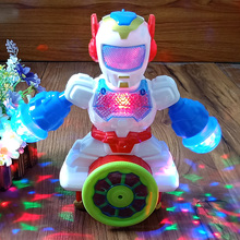 New Smart Space Dance Robot Toy Electronic Auto-sensing To Avoid Obstacles Robot Pet Light Music Toys For Children Kids Boy Gift