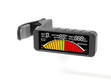 Clip on Tuner and Metronome for Guitar Bass All String Wind and Brass Instruments Flanger FMT-209 free shipping