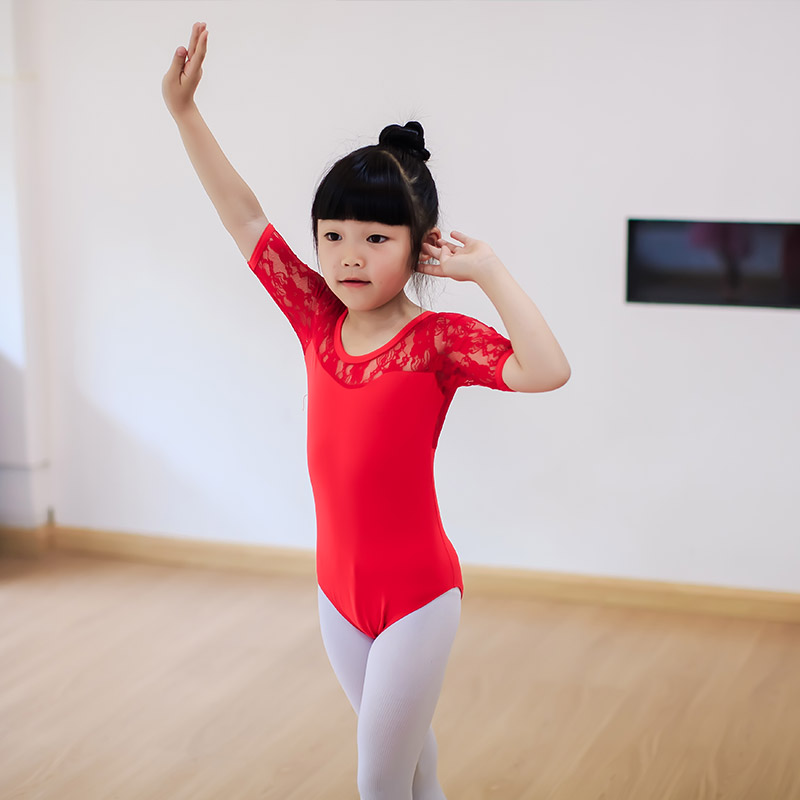 b5d5a80ec711c ballet leotard gymnastics leotard girls dance costume clothes children  professional lace leotards tutu tights costumes kids-in Ballet from Novelty  & Special ...