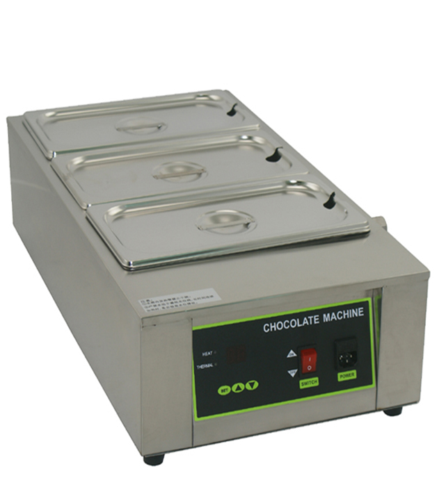Free shipping 110v 220-230V Commercial Chocolate melting machine 12KG Capacity 3 Tanks