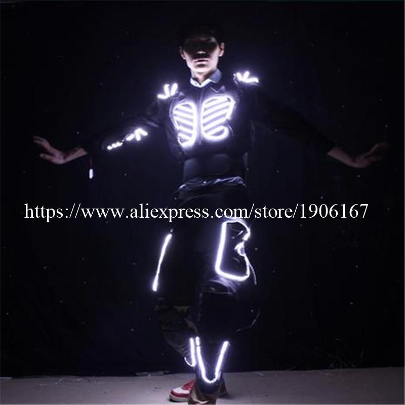 LED Costume LED Clothing Light suits LED Robot suits david robot05