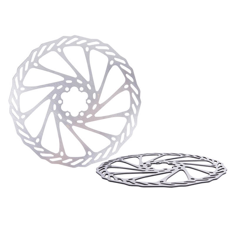 ZTTO MTB Bike Bicycle Brake 203mm/180mm/160mm/140mm/120mm Stainless Steel Rotor Disc Line Pulling Disc Brake for Most Bicycles