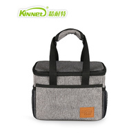 New 2017 Ma Ash Insulation Medium Square Package Lunch Bag Woman Warm Food Picnic Box Office