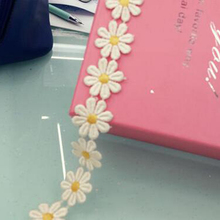 Free shipping Width 2.5cm Milk Craft Polyester Water Soluble Lace trim l for DIY hair Accessories YYN314 сумка l craft l craft mp002xw1hxal