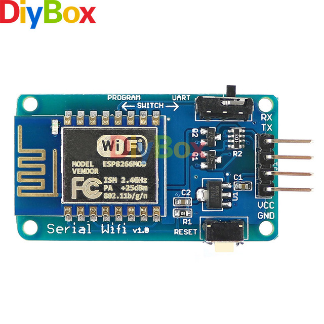 US $6 04 |Serial Wifi Module ESP8266 ESP 12 V1 0 for Arduino UNO R3 2 4  GHz-in Connectors from Lights & Lighting on Aliexpress com | Alibaba Group