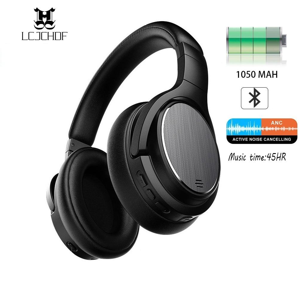 Lcjchdf M1 casque antibruit actif casque sans fil casque de jeu Microphone avec Microphone pour téléphones et musique
