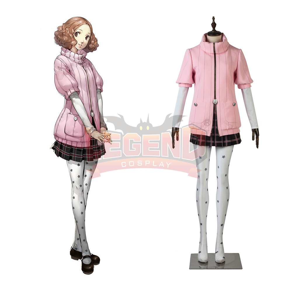 Cosplaylegend Persona 5 Haru Okumura Cosplay adult costume full set all size custom made halloween women