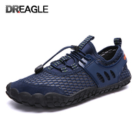 Big size 39 47 Outdoor Hiking Breathable Adult Watersport water shoes for men barefoot tenis swimming beach Aqua Sneakers