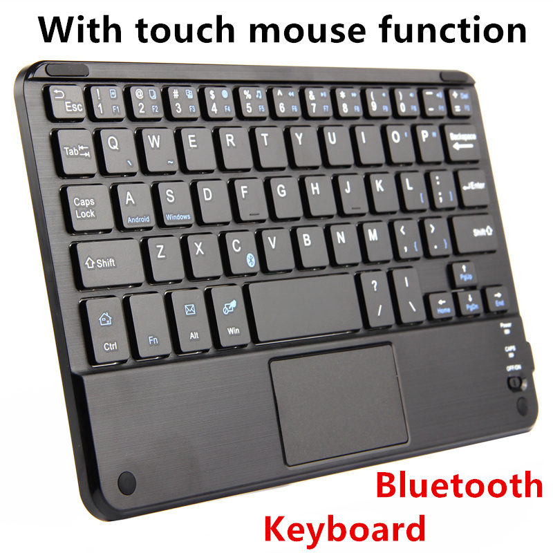 Bluetooth Keyboard For Huawei MediaPad T3 10 M3 lite 10 Tablet PC Wireless keyboard MediaPad M2 10.0 T2 T1 10 Pro Touch Pad Case bluetooth keyboard for lenovo miix 300 10 8 miix 310 320 tablet pc wireless keyboard miix 4 5 pro miix 700 miix 510 720 case