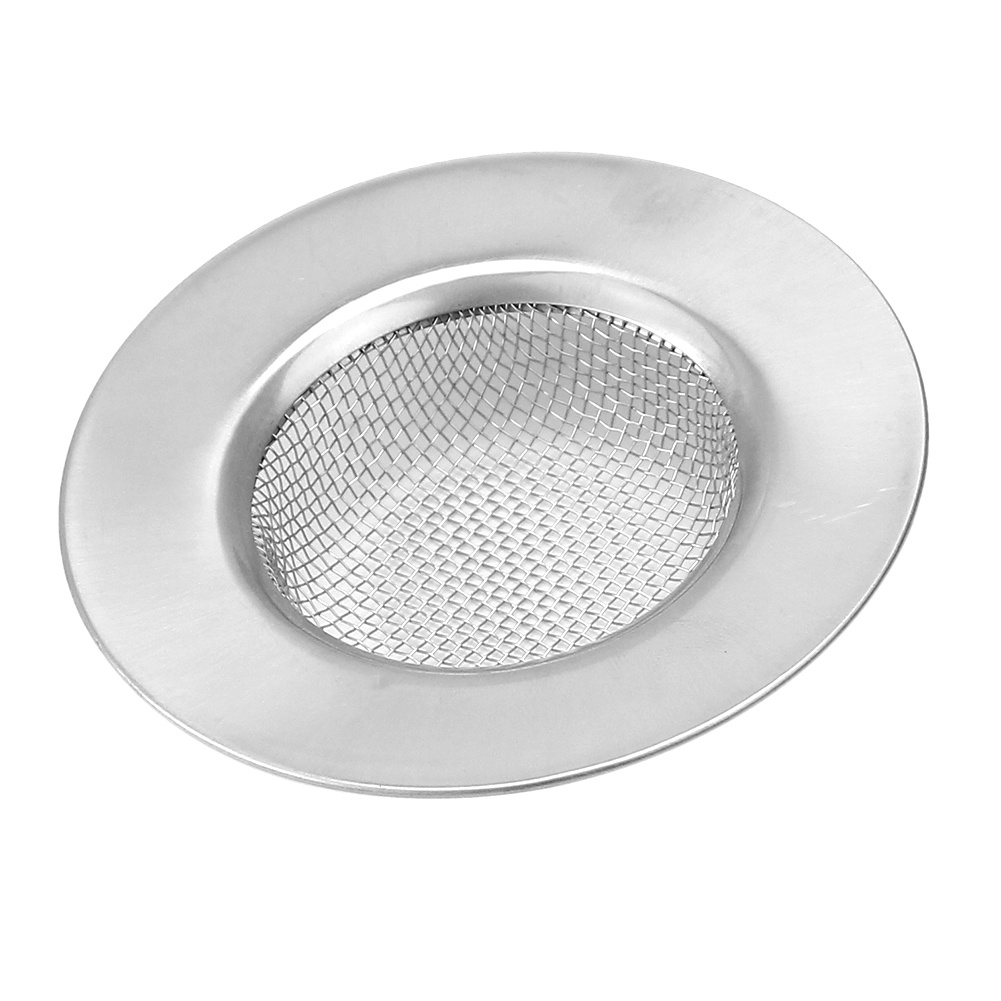 Stainless Steel Garbage Mesh Sink Strainer Drain Filter Hole Cover Stopper For Kitchen Bathroom Sink