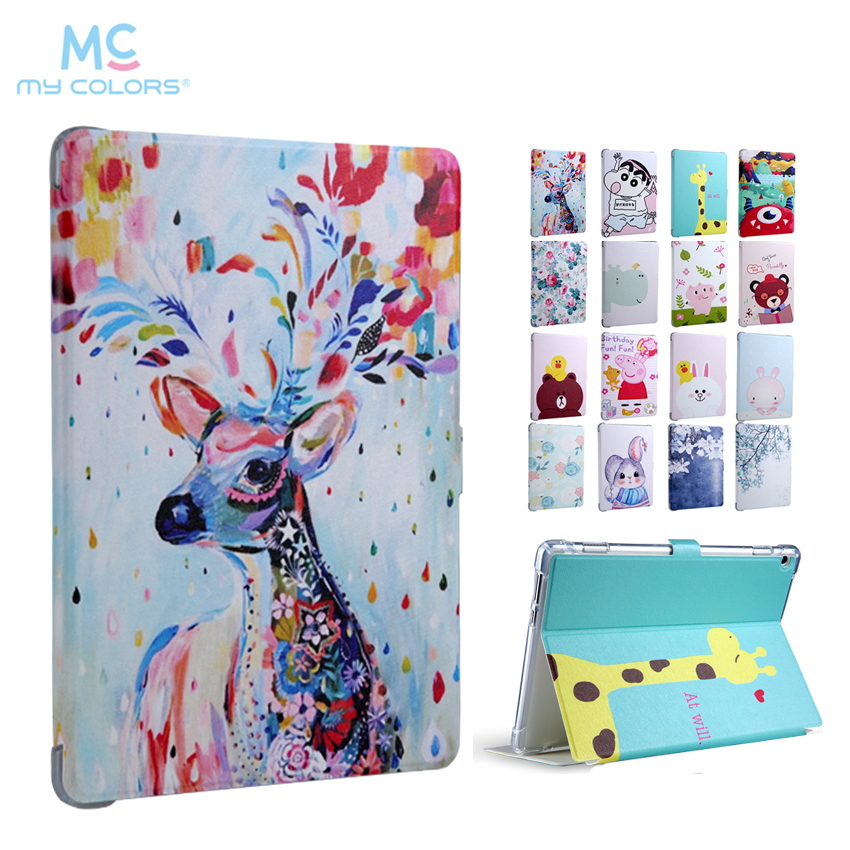 Mediapad M3 Lite 10.0 PU Leather Case Cover 10.1'' Slim Smart Tablet Fundas For Huawei MediaPad M3 Lite 10 BAH-W09 BAH-AL00 Skin coque smart cover colorful painting pu leather stand case for huawei mediapad m3 lite 8 8 0 inch cpn w09 cpn al00 tablet
