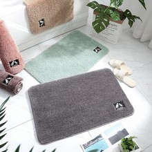 Microfiber Water Absorption Bathroom Mat Rug Thick Plush Non-Slip Door Floor Mat  Entrance Bedroom Kitchen Toilet Mats And Rugs пьер дж хасс кгб в оон