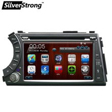 Free shipping 2 din Car DVD for ssangyong Actyon Kyron with car gps radio for ssangyong actyon kryon Free Gift 8G Map Card SWC