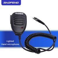 מכשיר הקשר שני Baofeng מקורי רדיו רמקול מיקרופון מיקרופון עבור שני הדרך רדיו מכשיר הקשר UV-5R UV-5RE UV-5RA UV-6R 888S Portable (1)