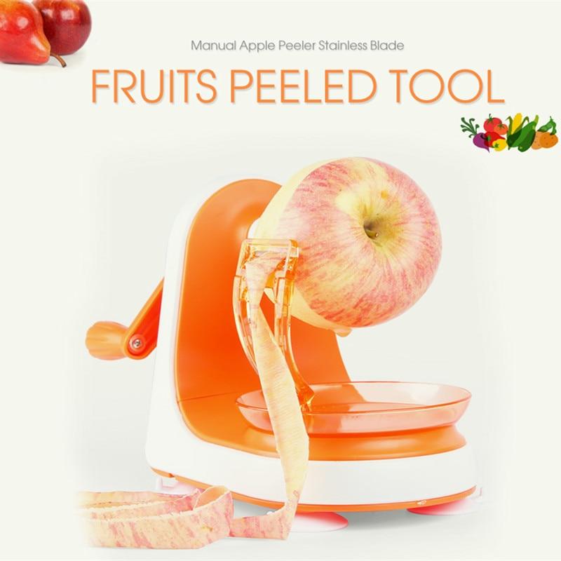 2018 New Creative Fruit Peeler Peeling Multifunction Manual Fruit Peeler Machine Cutting Apple Artifact Kitchen Tool LJ58