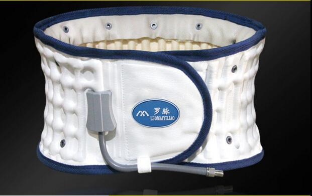 Cinto de proteção de disco lombar tensão muscular lombar cinto de tração da coluna massagem aliviar dor nas costas apoio lombar de disco lombar
