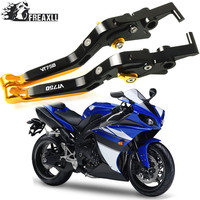 Motorbike Accessories CNC Motorcycle Brake Clutch Levers Adjustable Folding Extendable For Honda VT 750 VT750 Spirit 2001 2009