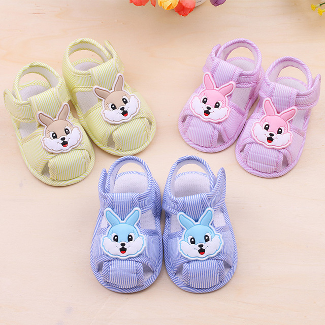 Soft Sole Booties Cotton Baby Shoes Newborn Girls Boys Cartoon rabbit Toddler shoes First Walkers Toddler Prewalkers 2019 new