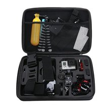 Portable Travel Storage Case Collection Box Protective for Gopro Hero 7 6 5 4 3 2 1 Camera Accessory Storage Bag anjirui waterproof storage carrying bag travel case for gopro hero sessions 4 4 3 3 2 1 xiaomiyi action camera case accessories