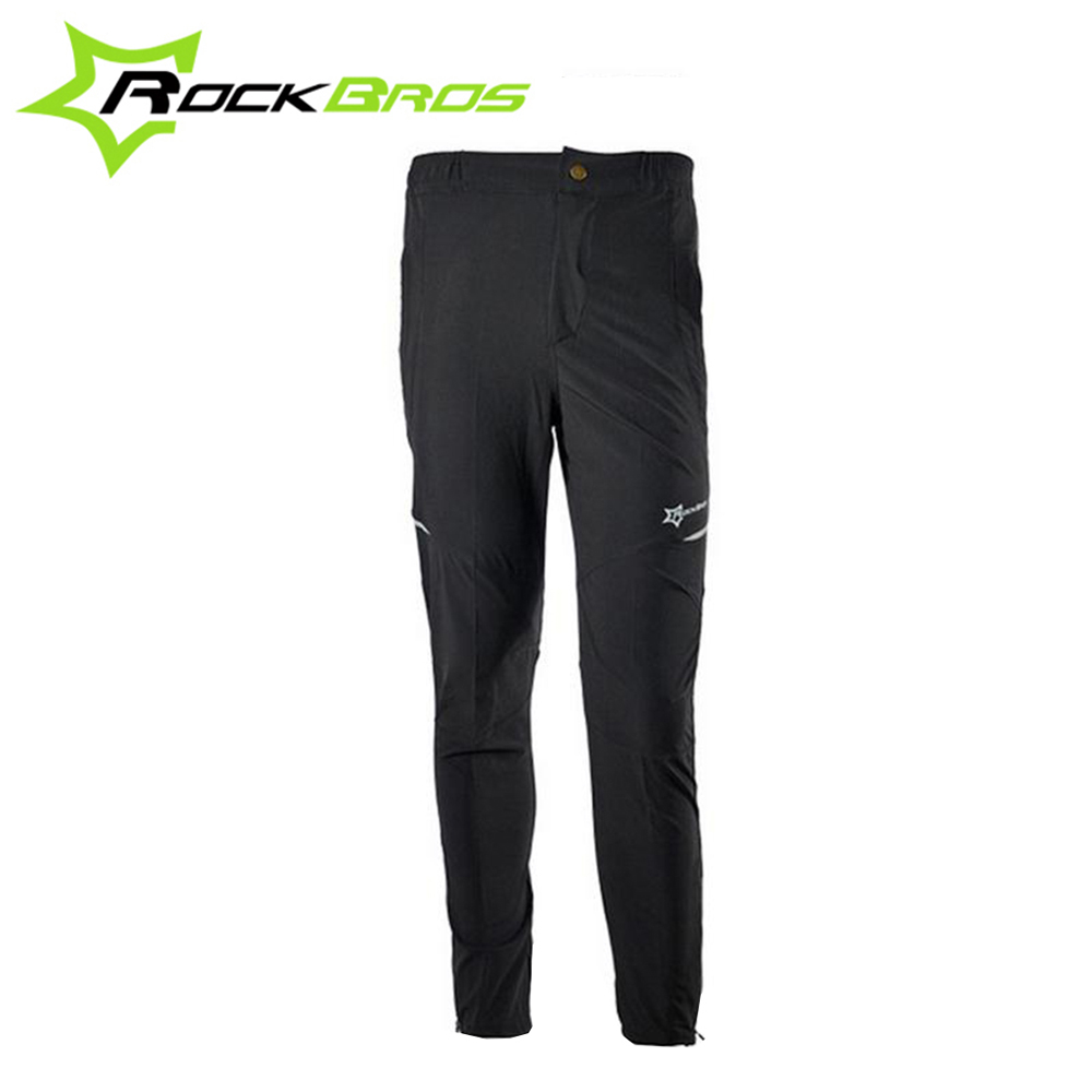 ROCKBROS Summer Outdoor Sports Cycling Clismo Bicycle Pants Breathable Multifunction Sportswear MTB Bike Reflective Tights nuckily men s winter bicycle pants waterproof and windproof outdoor breathable polyester durable fabric cycling sports tights