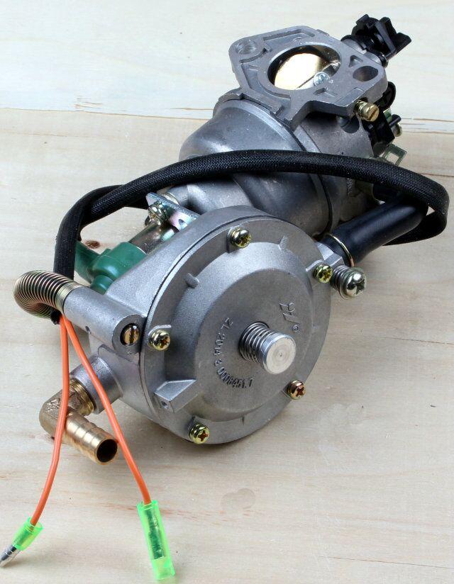 Free Shipping High quality 188F GX390 gasoline LPG carburetor dual fuel carbureter carburetter