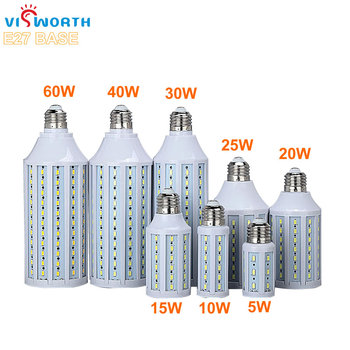 цена на E27 Led Corn Bulb 5W 10W 15W 20W 25W 30W 40W 60W SMD5730 360 Degree Led Lamp Cold Warm White Ac 220V 230V 240V Led Lighting
