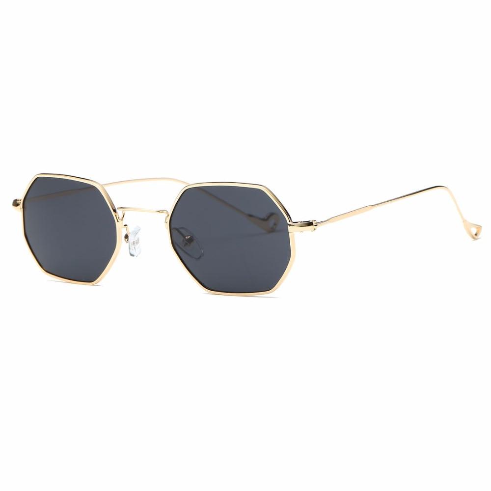 AEVOGUE Sonnenbrille Für Männer / Frauen Kleines Rechteck Legierung - Bekleidungszubehör - Foto 3