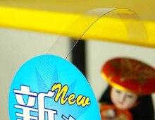 """1*14 ס""""מ פופ פרסום סימן מחזיק מדף מחיר תג תצוגת פופ מדף הר שקוף רועד Wobbler תווית מחזיק קפיצות כרטיס"""