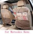 for benz mercedes w203 w204 w211 ML350 black waterproof car seat back protector mat stowing tidying cover accessories interior