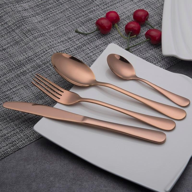 Houseware Store: Aliexpress.com : Buy Rose Gold Dinnerware Set Stainless