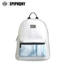 Epiphqny известный бренд Для женщин печатных рюкзак из искусственной кожи backbag Обувь для девочек дерево печати дорожная сумка маленькая