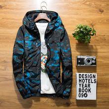XS-6XL new Spring Autumn Mens Casual floral Camouflage Hoodie Jacket Men Waterproof Clothes Mens Windbreaker Coat Male Outwear цены