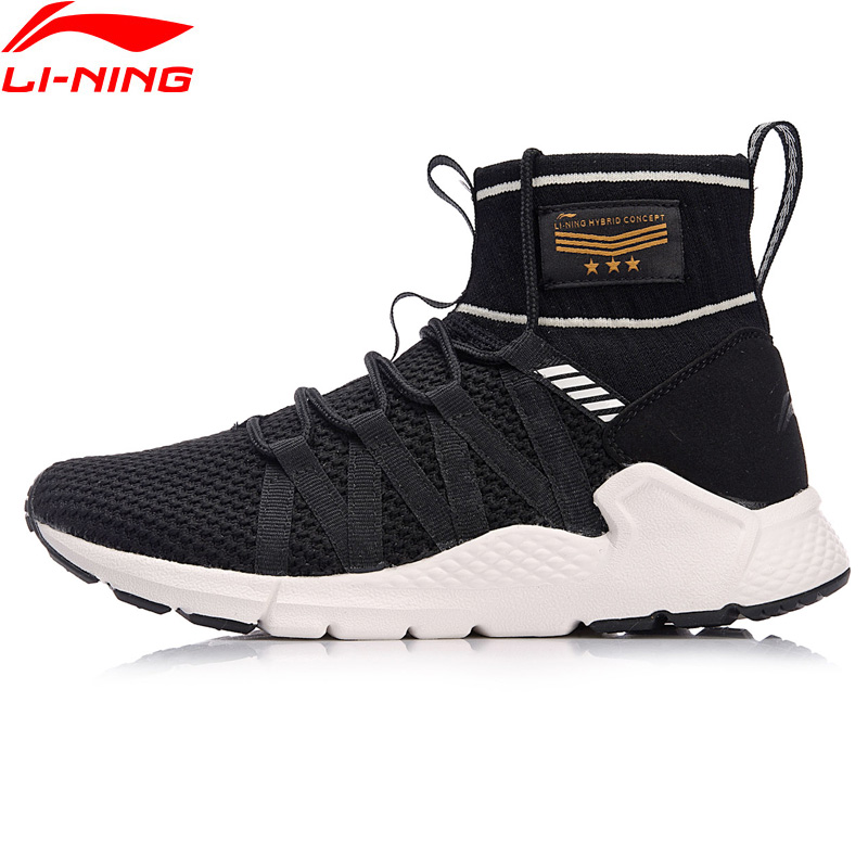 Li Ning Women PLANET Lifestyle Shoes Sock Like Fitness Sneakers Comfort Support Breathable LiNing Sport Shoes