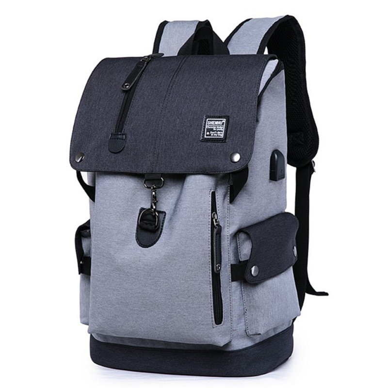 waterproof backpack travel multi-function big students book bag cool leisure fashion usb charge anti theft backpack 15inch big book of fashion illustration