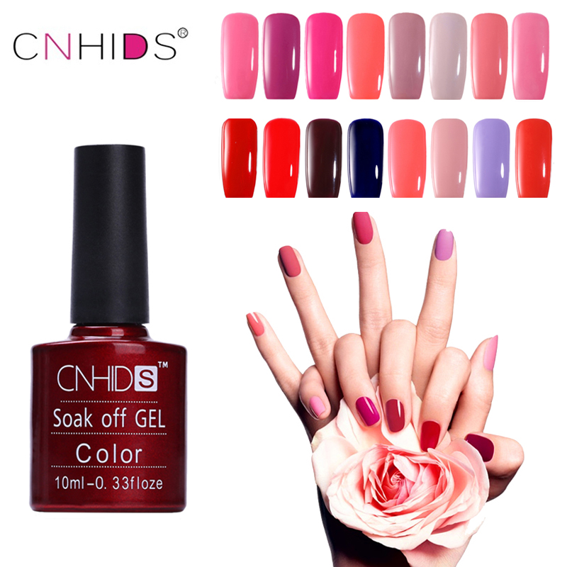 CNHDS Bestselling 10 ml UV Gel Nail Polish Color Nail Gel Polsk Vernis Semi Permanent Negl Primer Gel Lakker Gel Polish