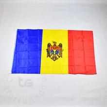 Moldova flag Free shipping  90*150cm Hanging Moldova National flag  the world cup Home Decoration Moldova flag marje aksli minu moldova