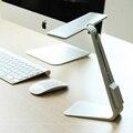 Moda Ultra-fino 3 Modo LED Cobrando Lâmpada de Mesa de Toque Inteligente Olhos de Proteção Folding Luz Moderno Noite