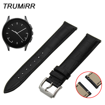 22mm Quick Release Watchband for Vector Luna Meridain Watch Band 1st Layer Genuine Leather Strap Wrist Belt Bracelet Black Brown