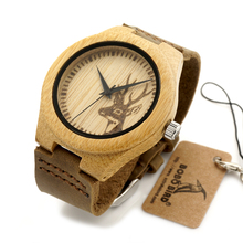 Deer Styles Bamboo Wooden Watches