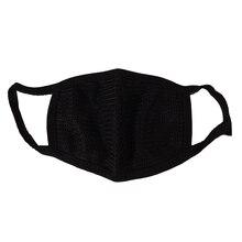 Горячая распродажа! черная маска для рта, хлопковая, противопылевая, двойная, Kpop, моющаяся, много раз