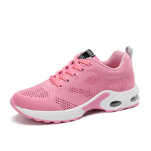 Women Shoes Canvas Flying Walking Sports Shoes Soft Bottom Air Cushion Female Yoga Shoes Woman Jogging Fitness Gym Shoes