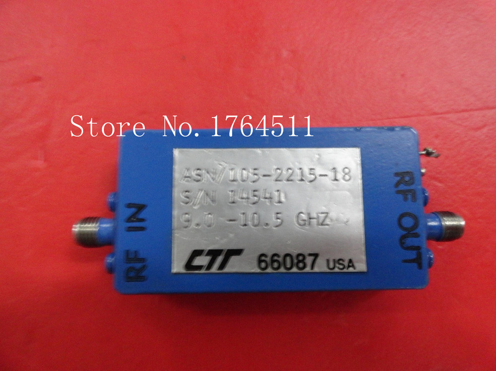 [BELLA] CTT ASN/105-2215-18 9-10.5GHZ 24V SMA Supply Amplifier