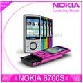 Reformado 6700 s originales nokia 6700 deslizante teléfono celular desbloqueado 5mp 6700 slide bluetooth envío gratis