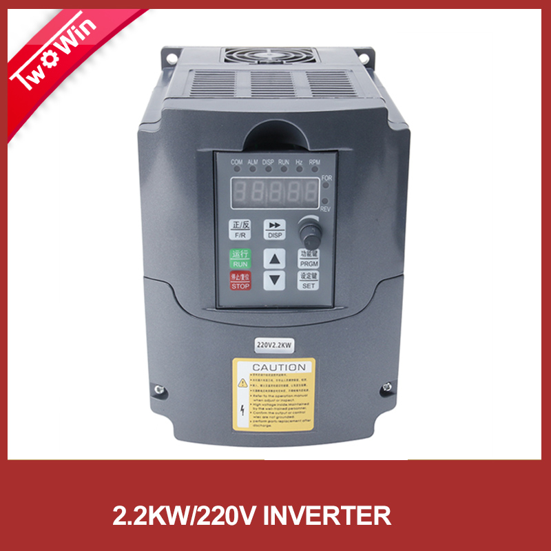 Frequency drive vfd inverter 2 2kw 1hp inverter 12v for Inverter for 3 phase motor