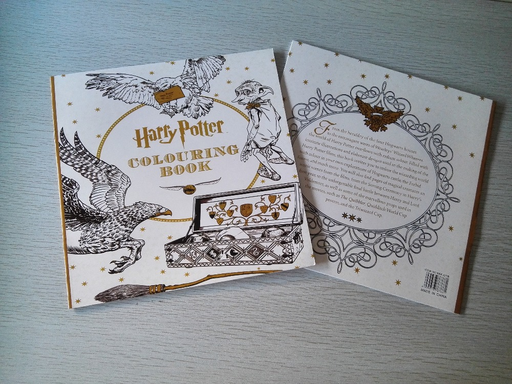 Harry Potter Coloring Book Books For Children Adult Secret Garden Series Kill Time Painting