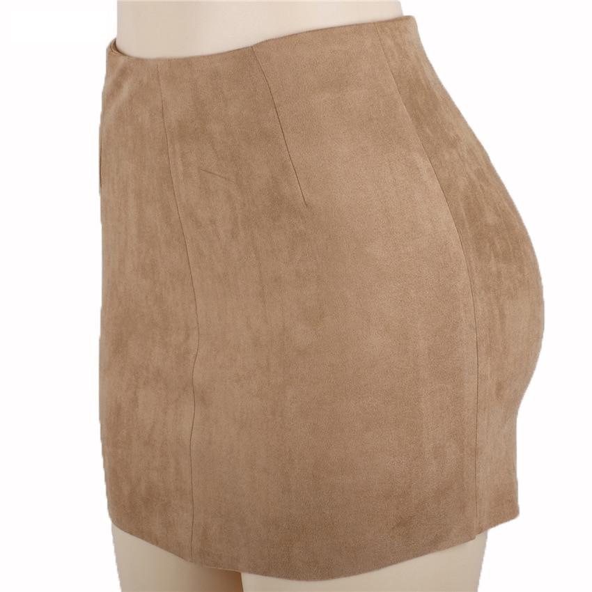 HTB1pB6UQXXXXXbQXpXXq6xXFXXXe - FREE SHIPPING Women Suede Mini Skirt JKP198